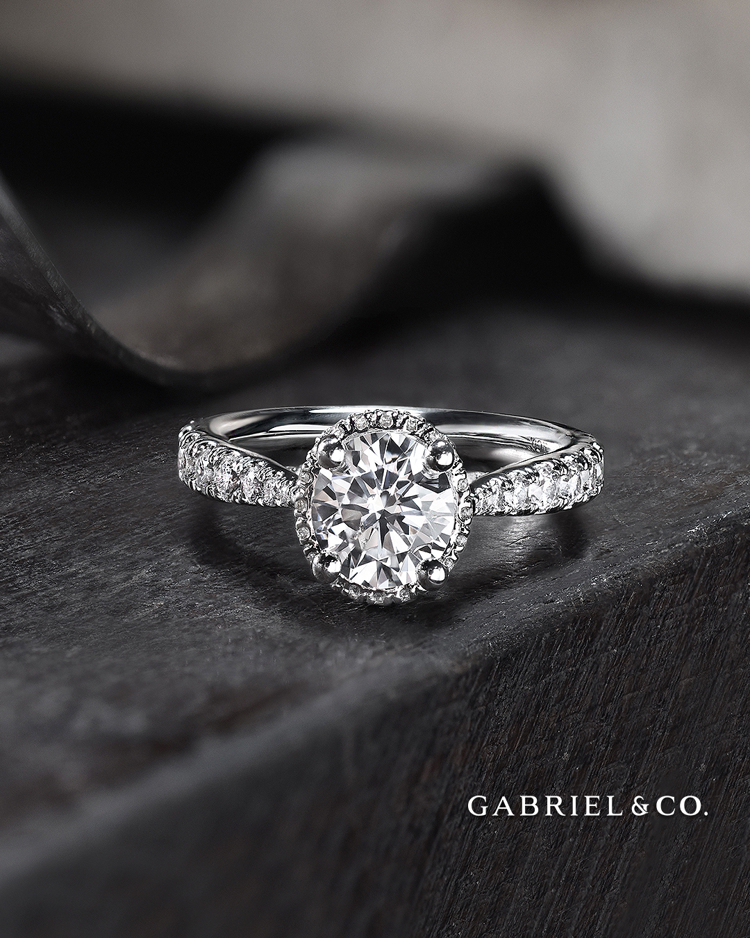 A little history of Halo Engagement Rings