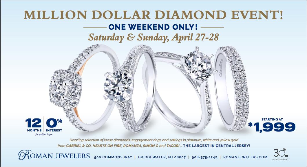 Million Dollar Diamond Event
