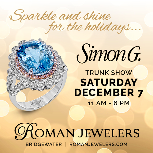 Simon G Event, the Trunk Show of the year!