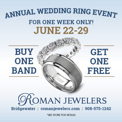 Annual Buy One Get One Wedding Ring Event - June 22th - 29th