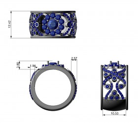 CAD jewelry image