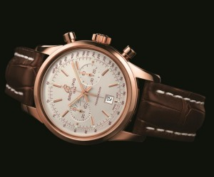 Breitling, brown band watch