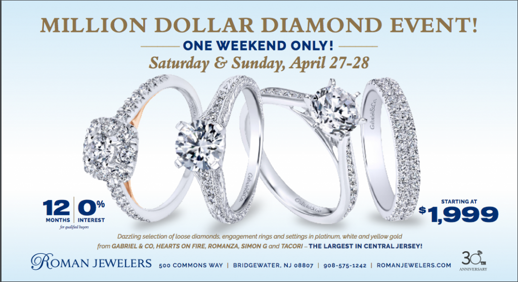3e125c225 Central New Jersey's Largest selection of Diamonds and Engagement Rings