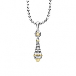 Signature Caviar Pendant Necklace