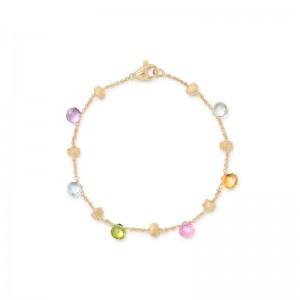 Marco Bicego Paradise Mixed Stone Single Strand Bracelet