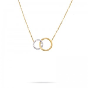 Marco Bicego Jaipur Link Gold & Diamond Small Pendant