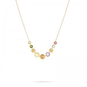 Marco Bicego Jaipur Mixed Stone Necklace