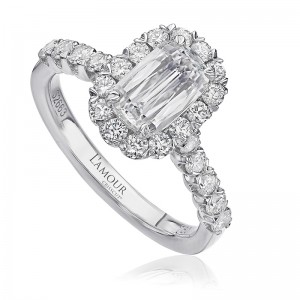 L'Amour Collection by CHRSTOPHER DESIGNS Diamond Engagment Ring