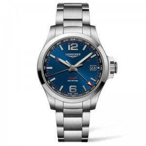 Conquest V.H.P. 41mm Blue Dial Stainless Steel
