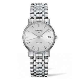 Longines Presence Automatic Silver Dial Ladies Watch