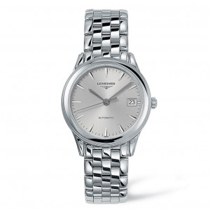 Longines La Grande Classique Automatic Silver Dial Stainless Steel Mens Watch