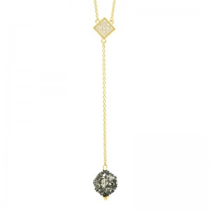 Rose D'or Y Necklace