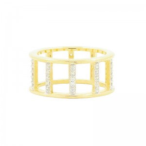 Radiance Open Wide Band Ring