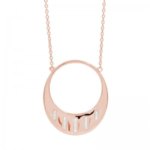 Radiance Open Pendant Necklace