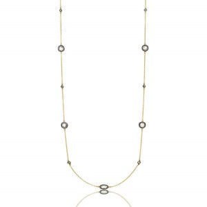 Signature Raindrop Station Necklace