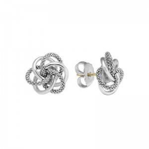 S/S Love Knot Stud Earrings