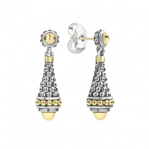 Signature Caviar Drop Earrings