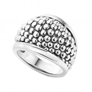 Signature Caviar Beaded Ring
