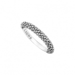 Signature Caviar Stacking Ring