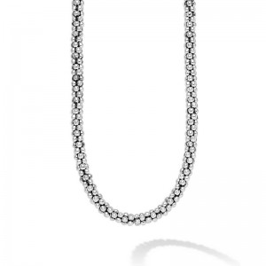S/S Caviar Rope Necklace 4Mm 18
