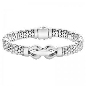 S/S Derby Bracelet 9Mm Rope Sz M