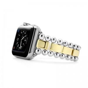 S/S 18K Smart Caviar 38Mm Link Watchband Sz 7