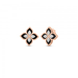 Roberto Coin Princess Flower Earrings