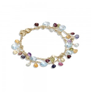 Marco Bicego Two-strand multicoloured bracelet, Paradise