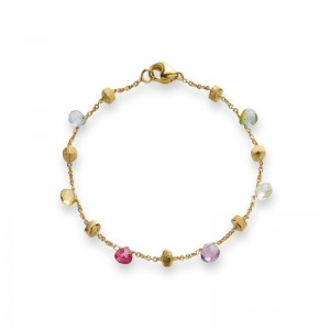 Marco Bicego Paradise Mixed Stone Single Strand Bracelet