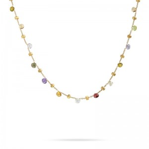 Marco Bicego Paradise Mixed Stone Short Necklace