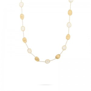 Marco Bicego Lunaria Gold Short Necklace