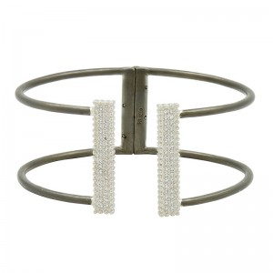 Industrial Finish OpenPave Bangle