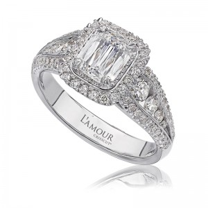 L'Amour Collection by CHRISTOPHER DESIGNS  Diamond Engagement Ring
