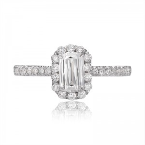 CHRISTOPHER DESIGNS  Crisscut® Oval Diamond  Engagement Ring