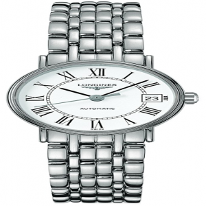 Longines Presence Automatic White Dial Ladies Watch