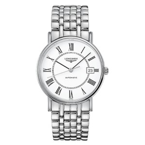 Longines Presence Automatic White Dial Mens Watch