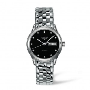 Longines La Grande Classique Automatic Black Dial Mens Watch