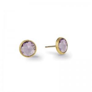 Marco Bicego Jaipur Amethyst Petite Stud Earrings