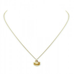 Mikimoto Golden South Sea cultured pearl pendant