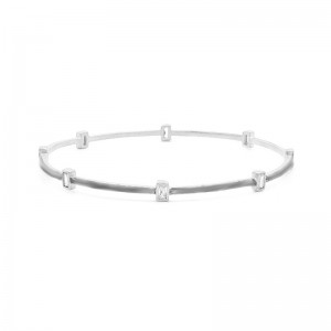 Signature Square Station Bangle