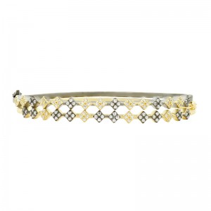 Rose D'or Double Hinge Bracelet