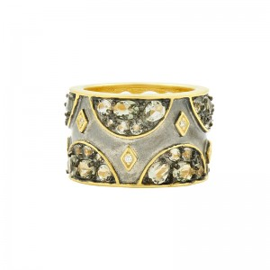 Rose D'or Wide Band Ring