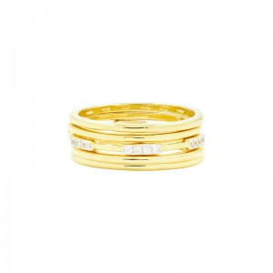 Radiance 5-Stack Ring
