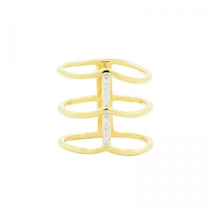 Radiance Cage Ring