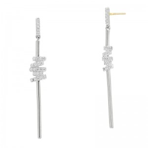Radiance Delicate Linear Drop Earring