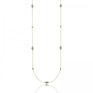 Signature Four Point Station Necklace