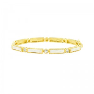 Color Theory Baguette Bar Hinge Bangle