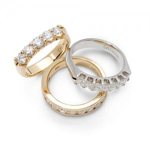 Romanza 3 diamond bands